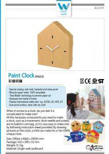 Paint Clock