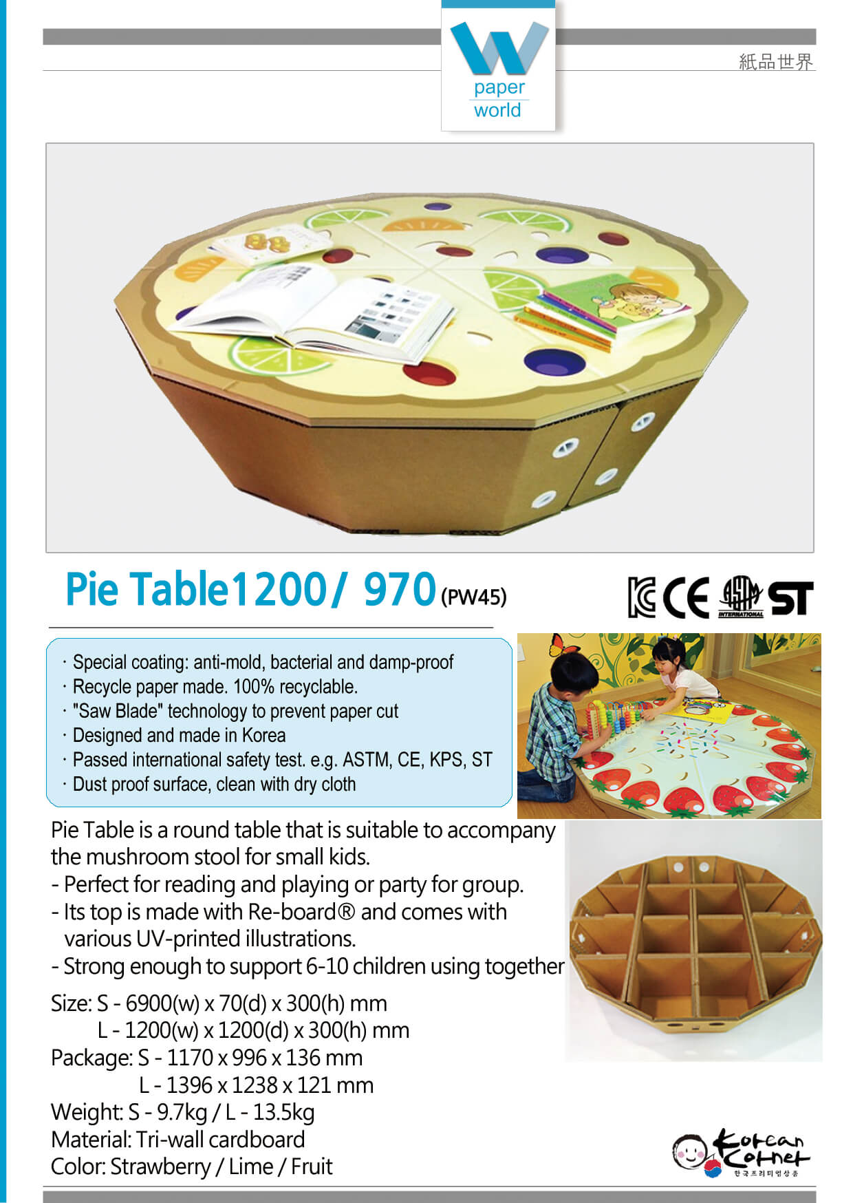 Pie Table