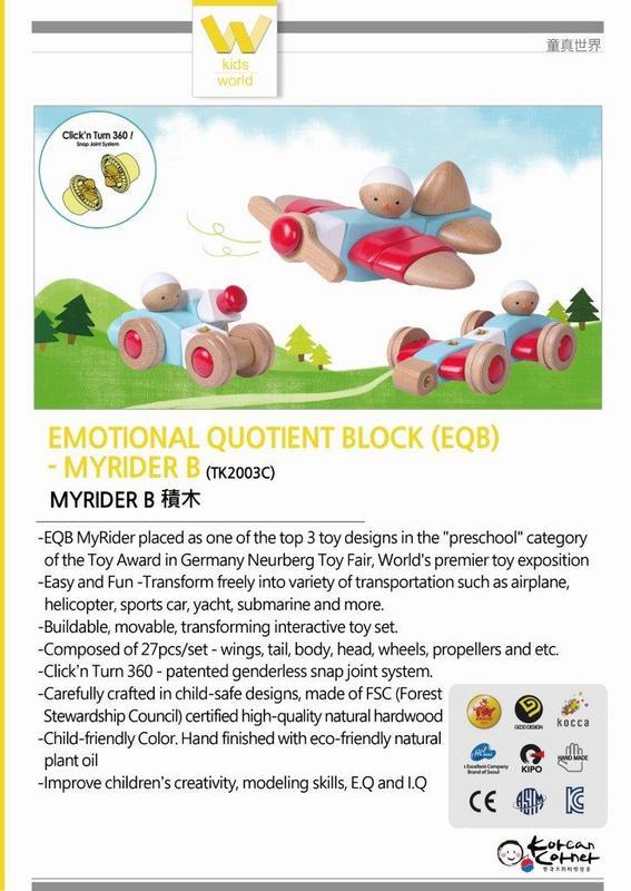 Emotional Quotient Block EQB My Rider